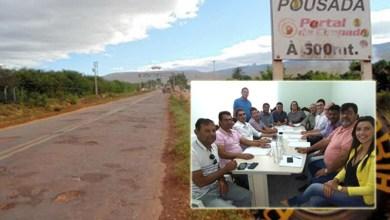 Photo of Chapada: Políticos da região se mobilizam e cobram recuperação da BA-142 ao governo de Rui Costa