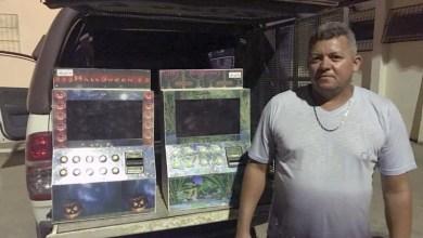 Photo of Chapada: Policiais da Cipe apreendem máquinas caça-níqueis no município de Itaberaba