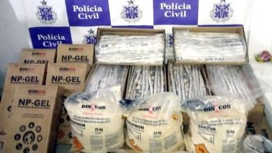 Photo of Polícia apreende mais de meia tonelada de explosivos em depósito clandestino na Chapada Diamantina