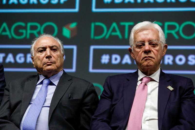 #Urgente: Michel Temer e Moreira Franco são presos pela força-tarefa da Lava Jato; acompanhe ao vivo
