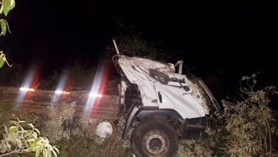 Photo of Chapada: Acidente com caminhão entre Morro do Chapéu e Piritiba deixa uma pessoa morta