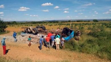 Photo of Chapada: Motorista morreu após perder controle e capotar caminhão carregado de cimento em Cafarnaum