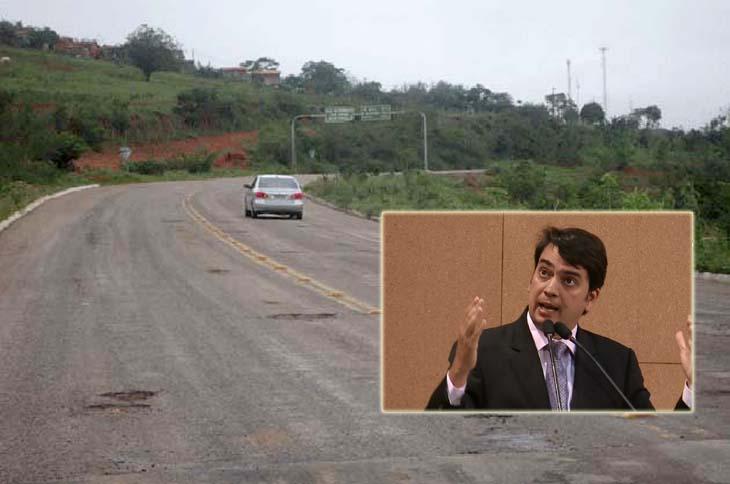 """#Bahia: Deputado do DEM diz que virou uma """"roleta-russa"""" trafegar pela Estrada do Feijão"""