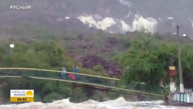 Photo of Chapada: Fortes chuvas e volume de água em Andaraí assustam moradores e enchem pontos turísticos