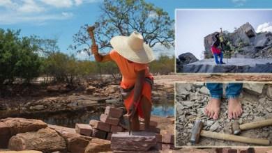 Photo of #Entrevista: Fotógrafo revela a vitalidade das 'mulheres de pedra' que ganham a vida quebrando rochas na Chapada Diamantina