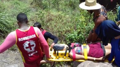 Photo of Chapada: Mulher que se feriu na trilha do Poço do Diabo é resgatada por bombeiros de Lençóis