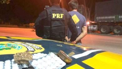 Photo of Chapada: Caminhoneiro é flagrado com 55 comprimidos de anfetaminas e maconha na região de Seabra