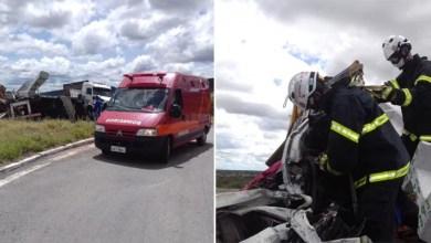 Photo of Chapada: Bombeiros resgatam vítima presa nas ferragens de veículo após acidente na região de Cafarnaum