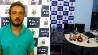 Photo of Chapada: 'Felipão' é preso acusado de assaltos durante ação conjunta no município de Mairi