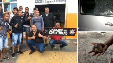 Photo of Van com torcedores do Corinthians da Chapada Diamantina é apedrejada na saída da Fonte Nova