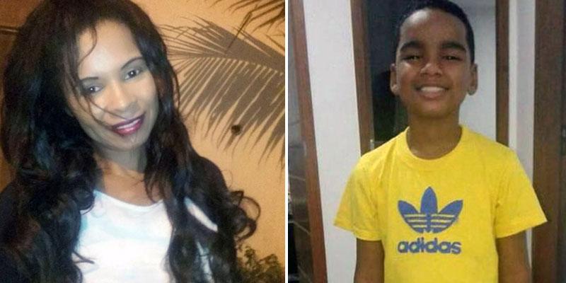 Chapada: Mulher natural de Itaberaba morreu com o filho no desabamento de prédios no Rio de Janeiro