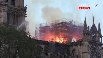 Photo of #Vídeo: Incêndio atinge Catedral de Notre-Dame em Paris; bombeiros tentam conter o fogo