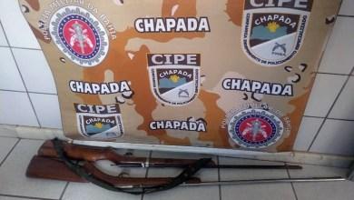 Photo of Chapada: Armas de fogo e drogas são apreendidas por policiais da Cipe na zona rural de Novo Horizonte