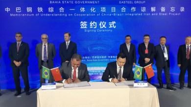 Photo of Rui Costa assina protocolo com empresa chinesa para investimento de U$ 7 bilhões na Bahia
