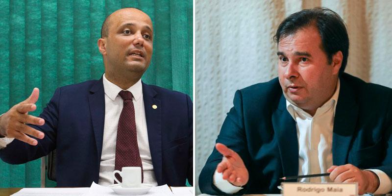 #Brasil: Rodrigo Maia anuncia rompimento com líder do governo Bolsonaro após polêmica