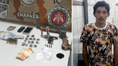 Photo of Chapada: Homem morre em confronto com a Cipe em Ruy Barbosa; drogas, munições e armas são apreendidas