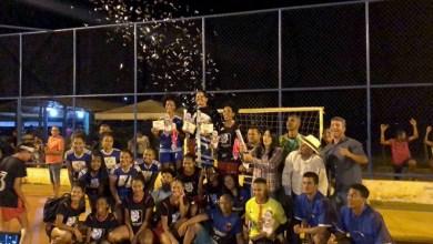 Photo of Chapada: Equipe de Nova Redenção vence a segunda Copa da Mamona de Futsal Feminino