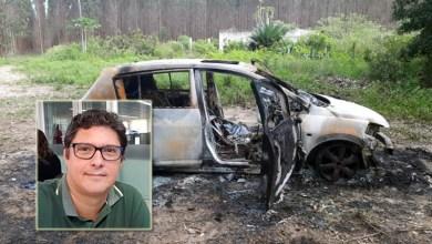 Photo of Bandidos põem fogo em carro com repórter da TV Bahia na mala no município de Esplanada; veja detalhes