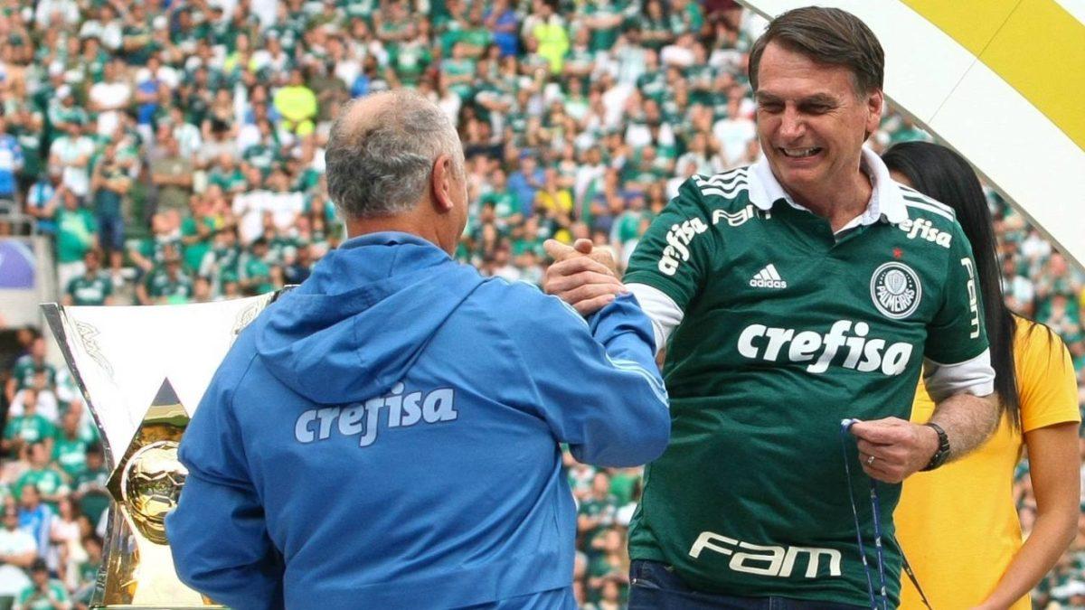 Brasil Gosto Tanto Do Palmeiras Que Eu Botei O Nome Do Meu Cachorro De Felipao Diz Bolsonaro Ao Tecnico De Futebol Jornal Da Chapada