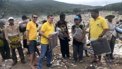 Photo of Chapada: 'Campanha do Agasalho' do Lions Clube de Itaberaba beneficia catadores de resíduos
