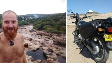 Photo of Viajante motociclista italiano é procurado por amigos e familiares após desaparecer na Chapada Diamantina