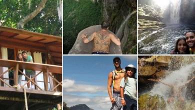 Photo of #Fotos: Marido e filho de Ivete Sangalo se hospedam em casa na árvore na Chapada Diamantina e visitam cachoeiras