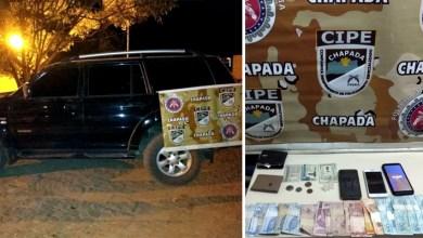 Photo of Chapada: Três irmãos são presos pela Cipe por envolvimento com tráfico de drogas em Iraquara