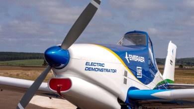 Photo of #Brasil: Fotos de protótipo de avião com propulsão elétrica são divulgadas pela Embraer