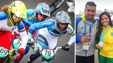 Photo of Atleta baiana conquista medalha de prata na prova de BMX dos Jogos Pan-Americanos de Lima