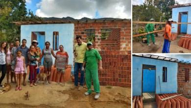 Photo of Chapada: Casa de família atingida por incêndio é reformada e ampliada com ajuda da prefeitura de Ruy Barbosa