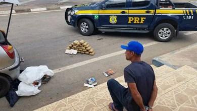 Photo of Chapada: Foragido da justiça é preso pela PRF levando maconha e cocaína em carro na região de Seabra