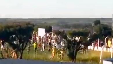 Photo of Chapada: Partida de futebol acaba em agressões e com tiros da PM para cima em Mairi; veja vídeo