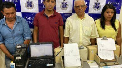 Photo of Chapada: Quatro pessoas especializadas em fraudar bingo são presas em Lapão no final de semana
