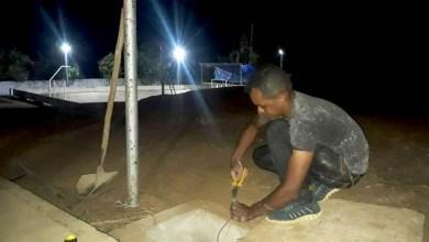 Photo of Chapada: Quadra de Colégio Estadual recebe iluminação mais moderna em Nova Redenção
