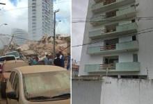 Photo of #Tragédia: Prédio de sete andares desaba em área nobre de Fortaleza; ainda não há número de vítimas