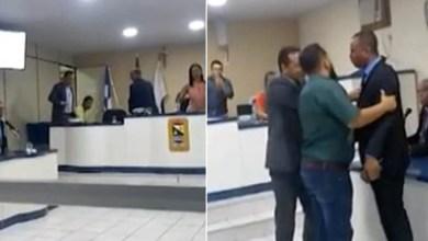 Photo of Chapada: Vereadores brigam durante votação de projeto de lei na Câmara do município de Saúde