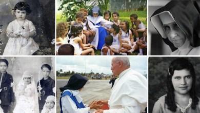 Photo of Imagens da primeira santa brasileira tomam as redes sociais; confira as fotos com Irmã Dulce
