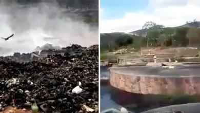 Photo of Chapada: Moradores de Mucugê denunciam situação da estação de tratamento de esgoto e do aterro da cidade