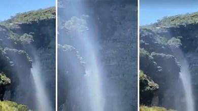 Photo of Chapada: Confira novas imagens da Cachoeira da Fumaça com suas águas 'correndo ao contrário'