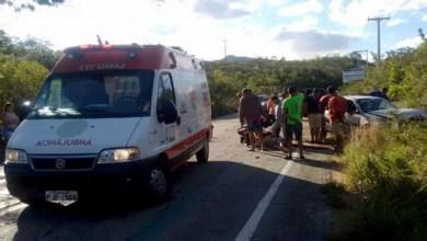 Photo of Chapada: Carro capota e idoso fica ferido na região da Serra das Almas entre Rio de Contas e Livramento