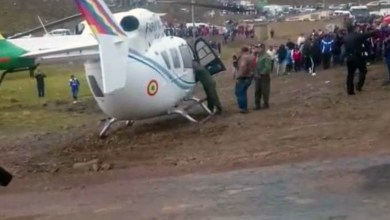 Photo of #Mundo: Helicóptero que levava Evo Morales faz pouso forçado na Bolívia