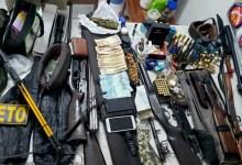 Photo of Chapada: Polícia apreende armas e munições durante ação no município de Capim Grosso