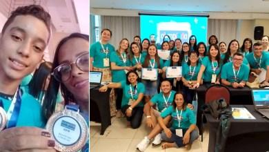 Photo of Chapada: Estudante e professora medalha de bronze em Olimpíada de Português estarão em 'Noite Literária' de Itaetê