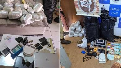 Photo of Chapada: Polícia prende traficante foragido da Justiça em Barra da Estiva com drogas, armas e dinheiro