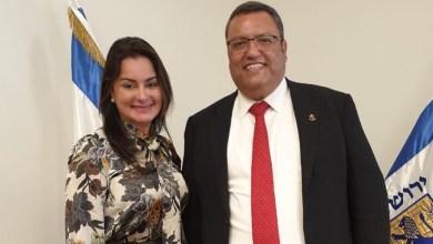 Photo of Vereadora e prefeito de Jerusalém debatem sobre acordo de cidades-irmãs entre Salvador e a Terra Santa