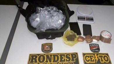 Photo of Chapada: Polícia Militar prende em flagrante suspeito de tráfico de drogas em bairro de Itaberaba