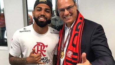 Photo of #Brasil: Depois de ser ignorado por Gabigol na vitória do Flamengo, Witzel comemora nas redes sociais