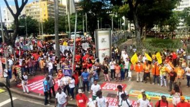 Photo of #Salvador: Manifestantes vão às ruas da capital contra declaração de Eduardo Bolsonaro sobre o AI-5