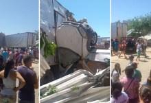 Photo of Chapada: Motorista perde controle e caminhão atinge ao menos quatro carros no centro de Ituaçu; veja vídeos