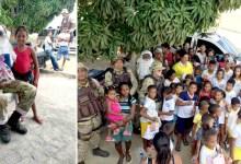 Photo of Chapada: Policiais da Cipe entregam presentes para crianças durante 'Natal Solidário' em Ruy Barbosa